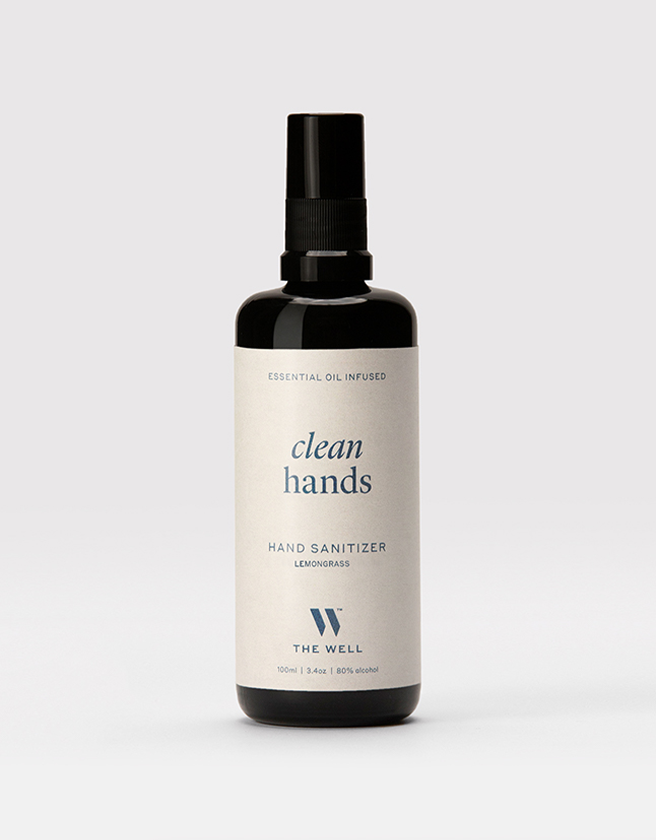 Clean Hands Sanitizer: Lemongrass