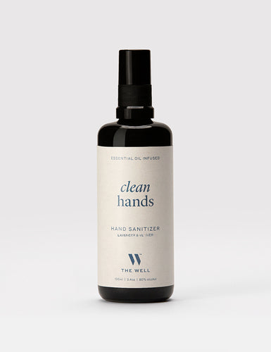 Clean Hands Sanitizer: Lavender & Vetiver