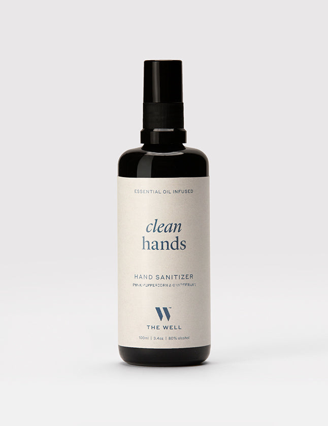 Clean Hands Sanitizer: Pink Peppercorn & Grapefruit