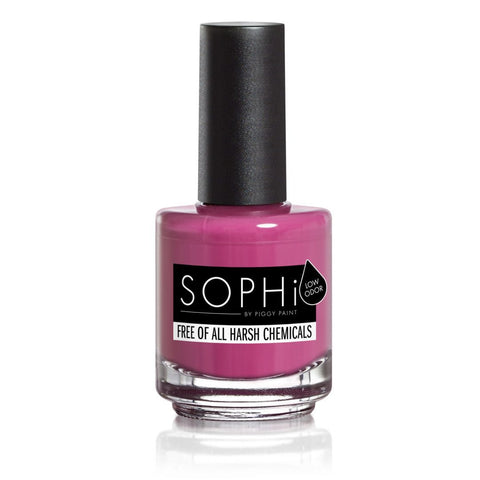 SOPHi nail polish PLUM P Up the Volume