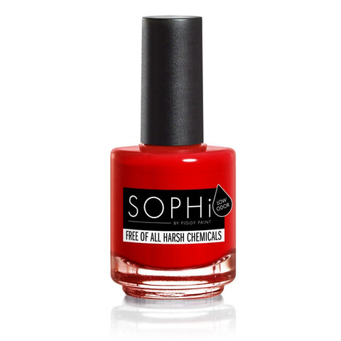 SOPHi nail polish Red Bottom Stilettos