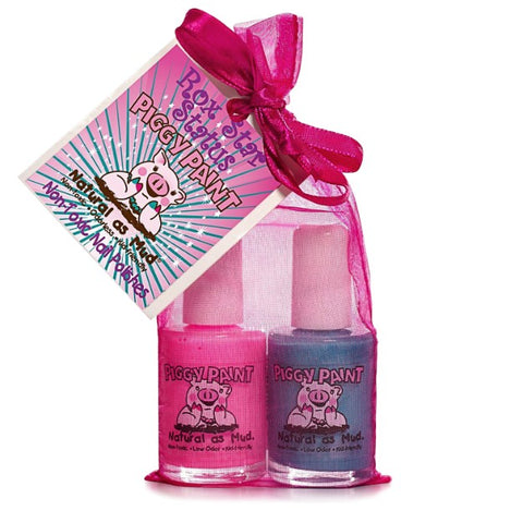 Rox Star Status 2-Piggy-Paints Gift Set (Forever Fancy, Sea-quin) - KidsNails.ie