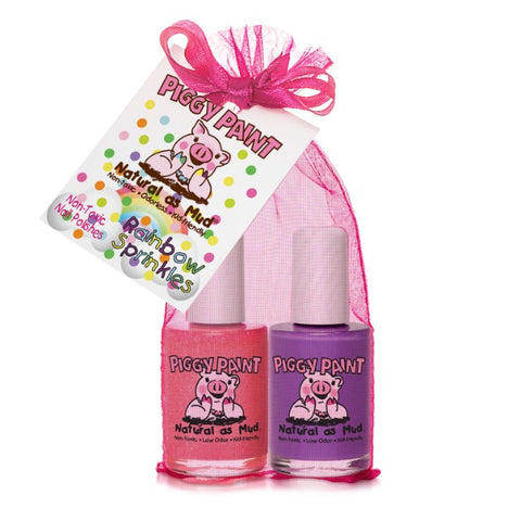 Rainbow Sprinkles 2-Piggy-Paints Gift Set
