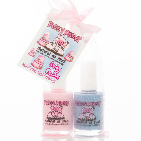 Babycakes 2-Piggy-Paints Gift Set (Bubble Trouble, Muddles the Pig) - KidsNails.ie