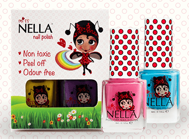 Miss Nella peel-off - You choose 2-polish set - KidsNails.ie