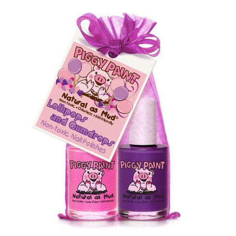 Lollipops and Gumdrops 2-Piggy-Paints Gift Set