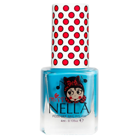Miss Nella peel-off - Mermaid Blue - KidsNails.ie