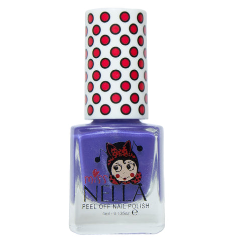 Miss Nella peel-off - Sweet Lavender - KidsNails.ie