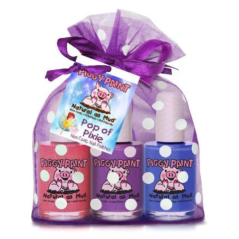 Pop of Pixie 3-Piggy-Paints Gift Set