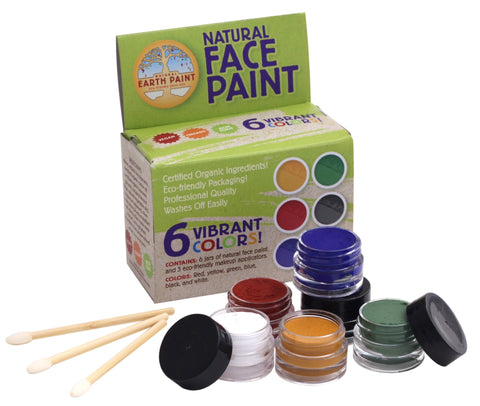 Natural Face Paint MADE OUTSIDE OF EUROPE, CONTAINS PLASTIC