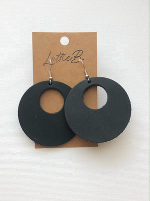 Black Kati Earrings
