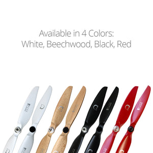 XOAR DJI Phantom 3 & 4 Beechwood Propeller Upgrade Set (Red)