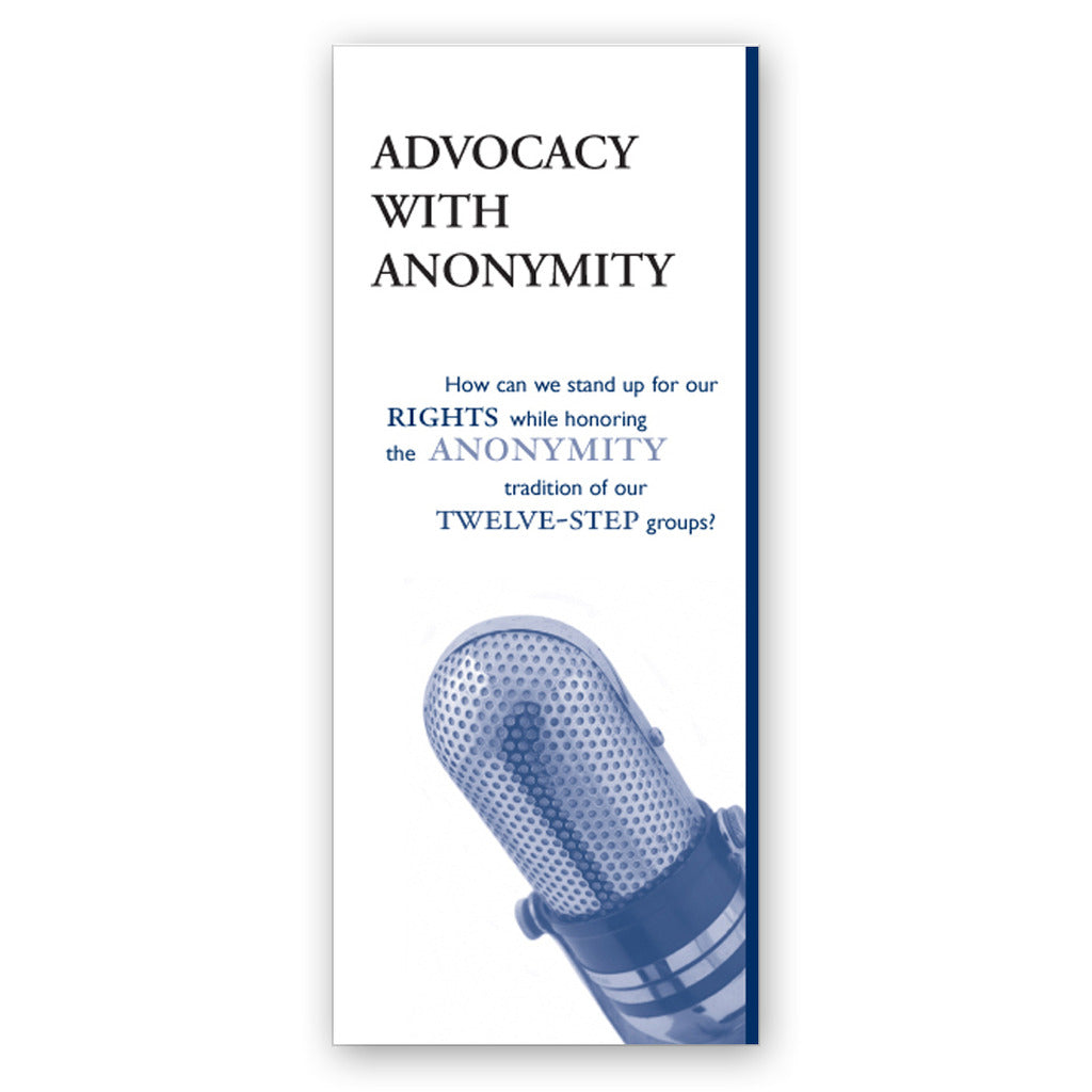 """Advocacy with Anonymity"" brochures (pack of 100)"