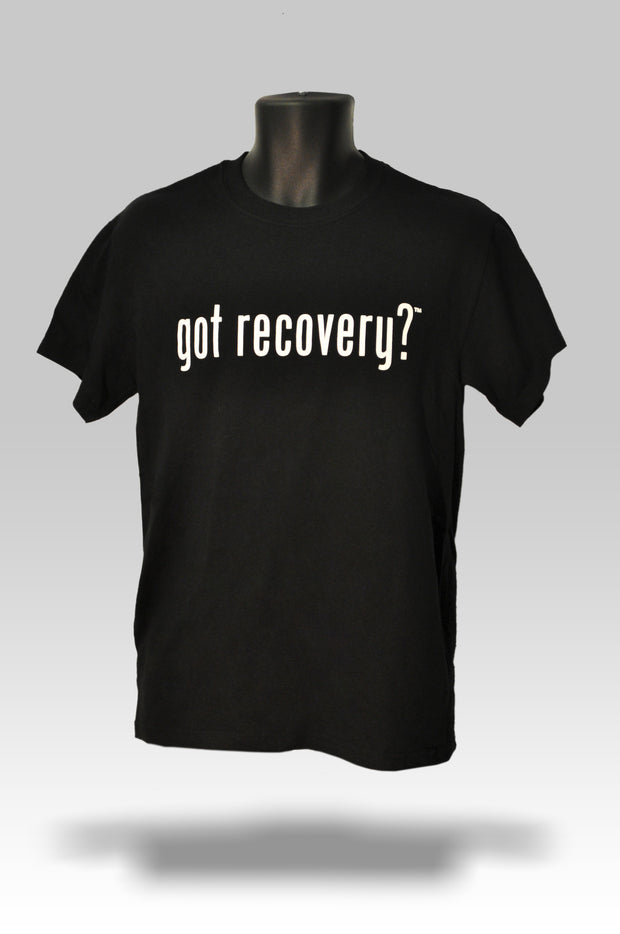 Got Recovery? T-Shirt in Black or Grey