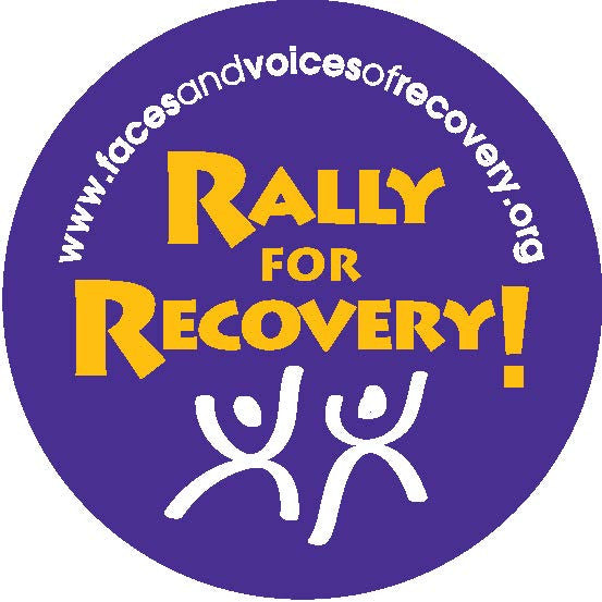 Rally For Recovery! Stickers (500 pack)