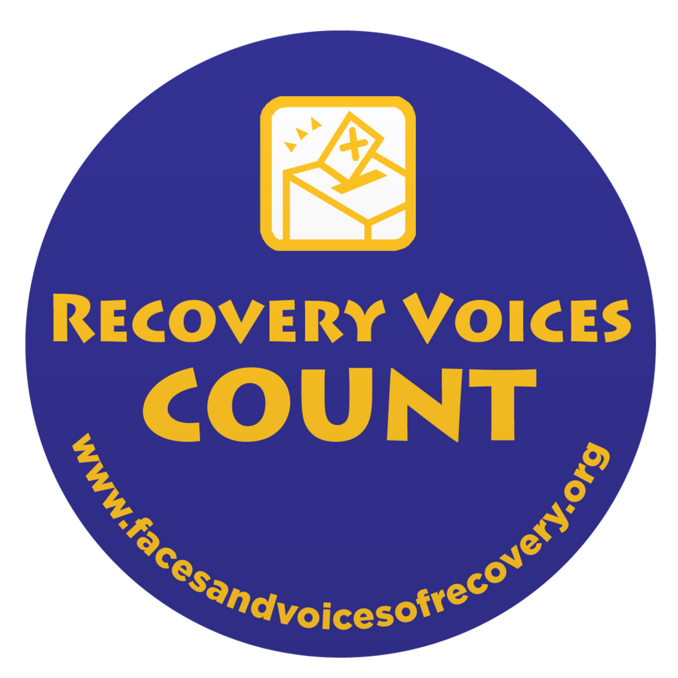 Recovery Voices Count Stickers (500 Pack)