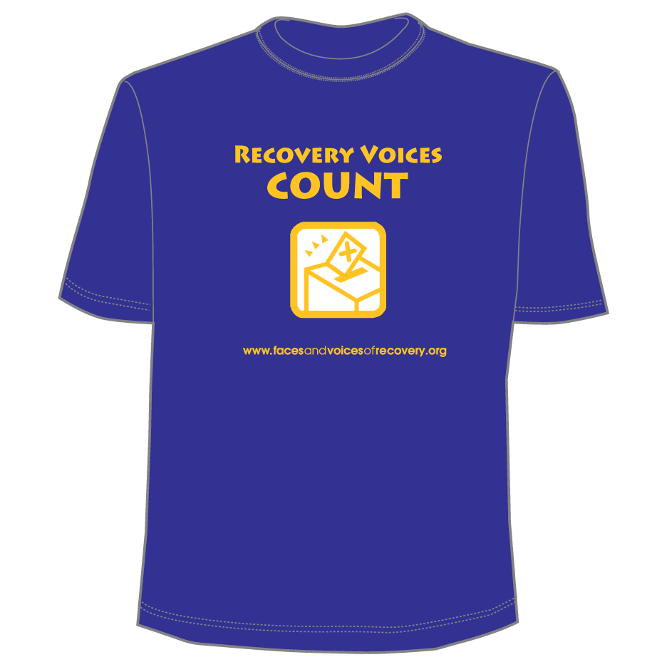 Recovery Voices Count Tee