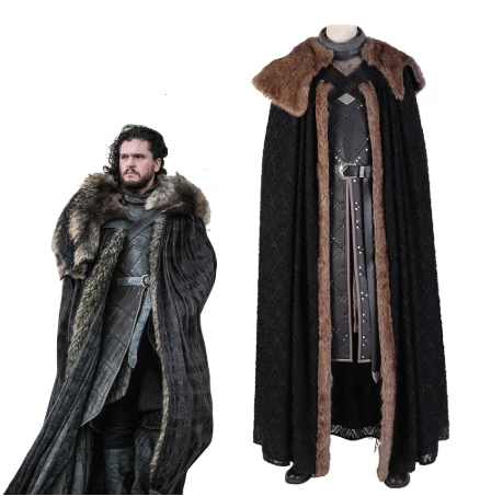 "Game of Thrones - Jon Snow ""King of the North"" Cosplay costume"