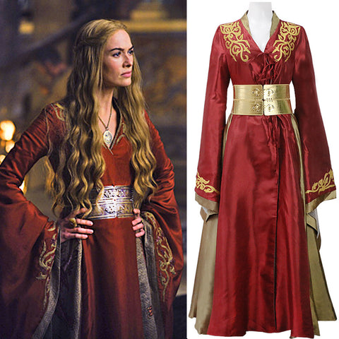 Game of Thrones/A Song of Fire and Ice - Queen Cersei Lannister Red Dress