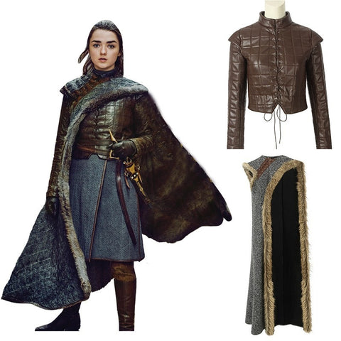Game Of Thrones - Arya Stark Cosplay Costume