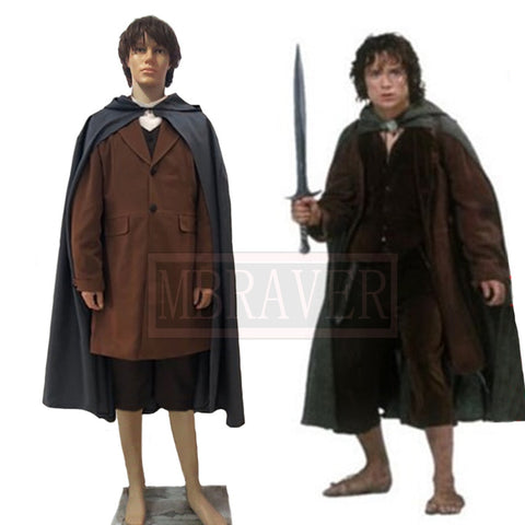 The Lord of the Rings Frodo Baggins CosPlay Costume