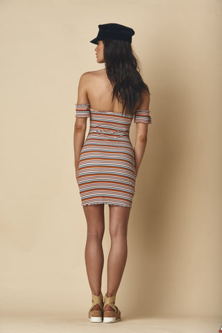 Donna Rib Jackie Dress