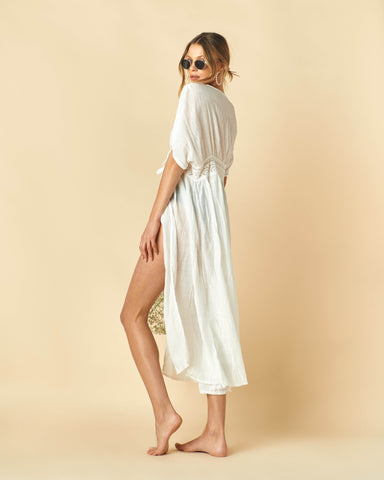 Aga Cover Dress (White)
