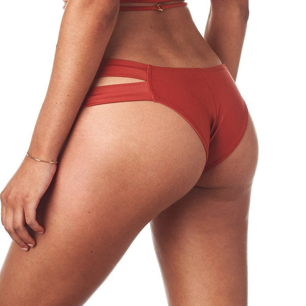 Sienna Added Coverage Euro Bikini Bottom