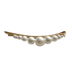 Bobby Pin Hair Clip (Curved Gradient Pearl)