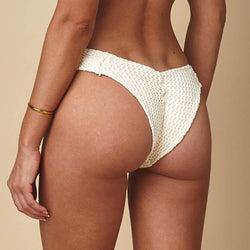 00d39dd8b0c Bone Crochet Additional Coverage Uno Bikini Bottom – MONTCE SWIM