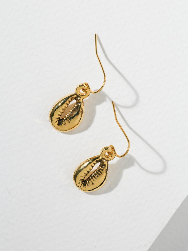 Gold Rockaway Earrings