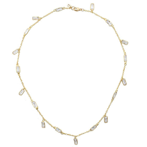 Gold Paquin Necklace
