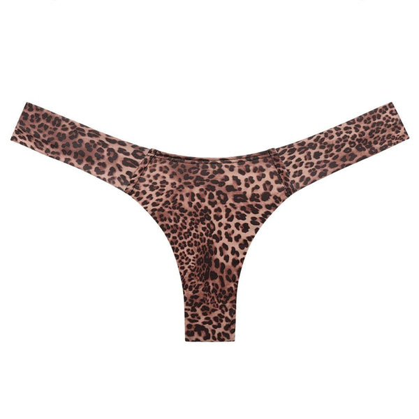 Leopard Print Added Coverage Uno Bikini Bottom