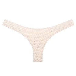 Bone Crochet Added Coverage Uno Bikini Bottom