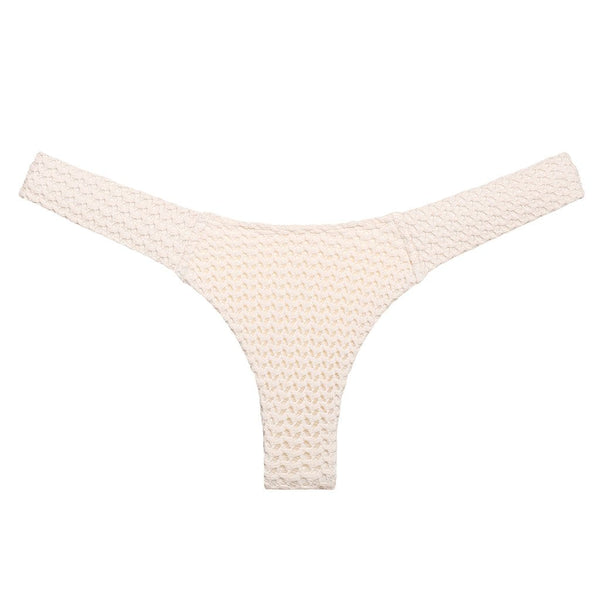 Bone Crochet Additional Coverage Uno Bikini Bottom