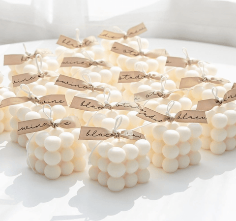 Cube Candle (White)