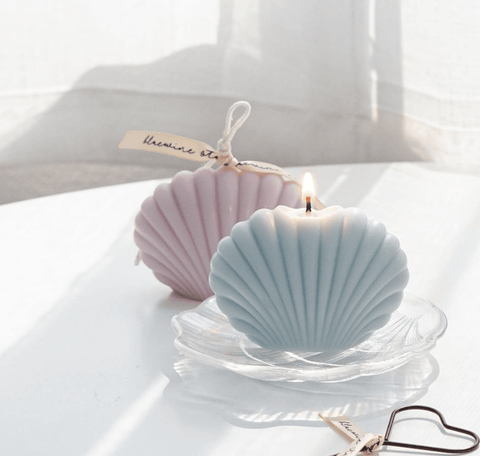 Seashell Candle (Lilac)