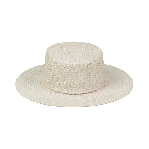 Wanderer Boater (Cream)