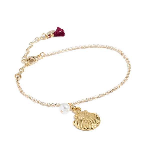 Under The Sea Bracelet (Gold/Pearl)