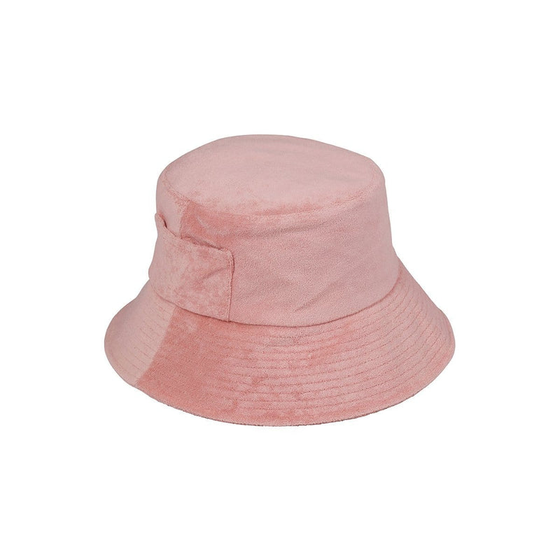 Wave Bucket Hat (Pink Terry)