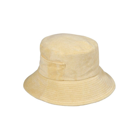 Wave Bucket Hat (Yellow Terry)