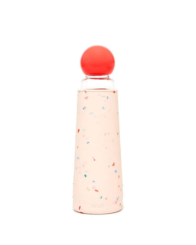Cool It Glass Water Bottle (Confetti)
