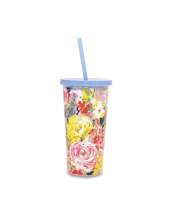 Sip Sip Tumbler (Flower Shop)