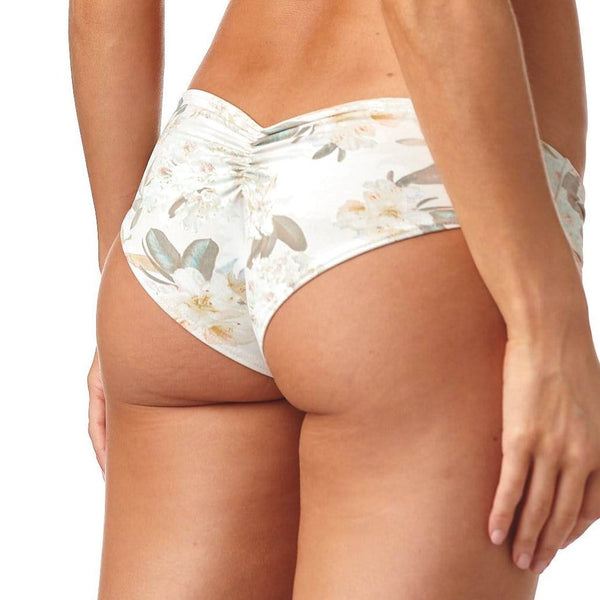 Été Floral Added Coverage Nu-Micro Bikini Bottom
