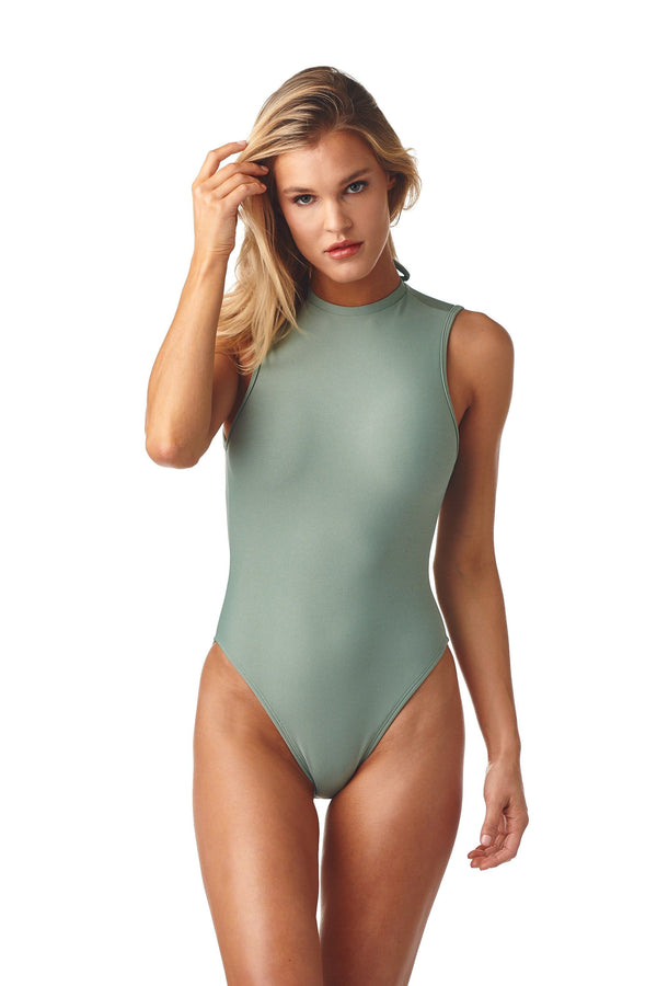 Pistache Solidad One-Piece