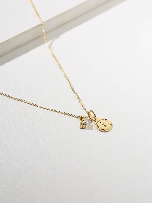 Gold West Necklace