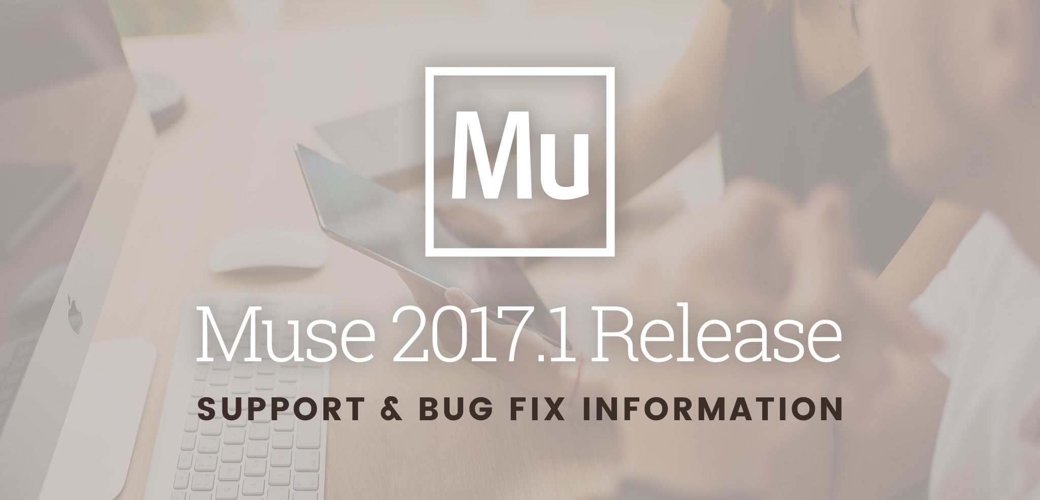 Muse 2017.1 Support & Bug Information