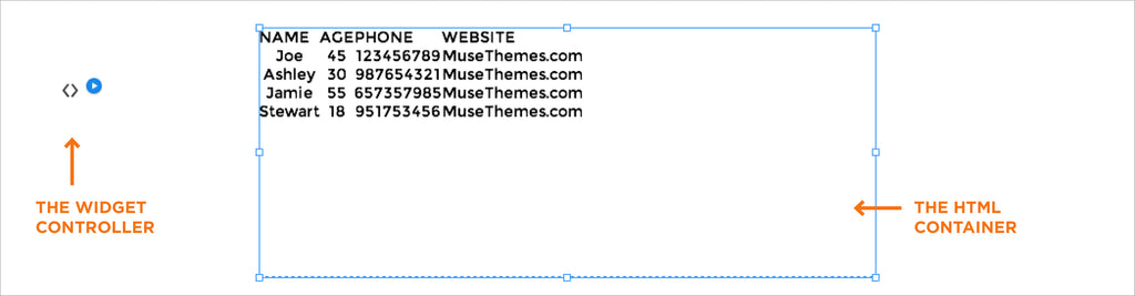 Creating a powerful table in Muse | Adobe Muse Widget Tutorial