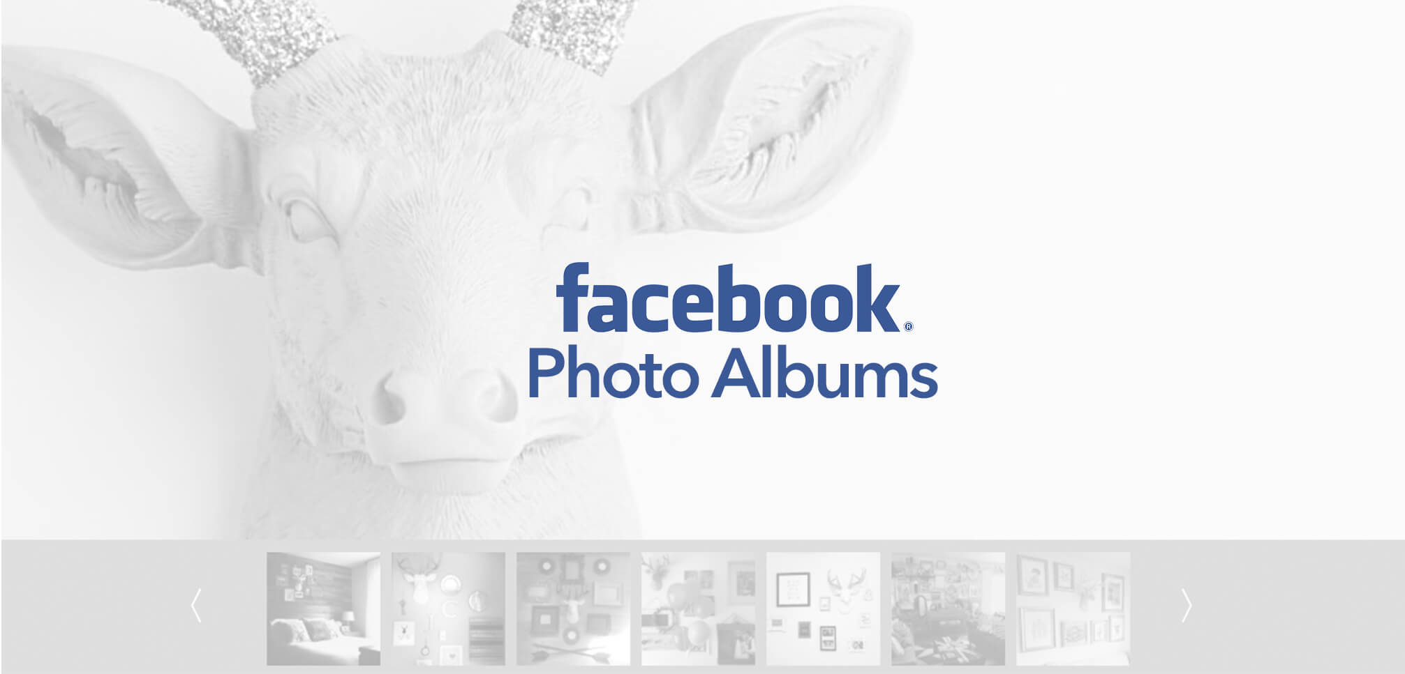 Facebook Photo Albums widget update