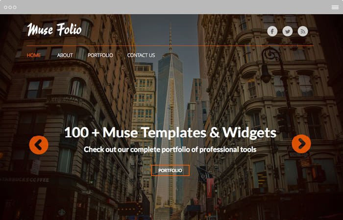 Adobe Muse Templates and Themes | MuseThemes com